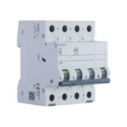 5SL62106RC Betagard 5SL Miniature Circuit Breakers B Characteristics Siemens