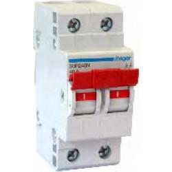SBR263N  Hager  2P 63A Switch High Range
