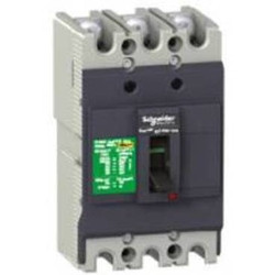 circuit breaker Easypact EZC250F - TMD - 225 A - 3 poles 3d Schneider